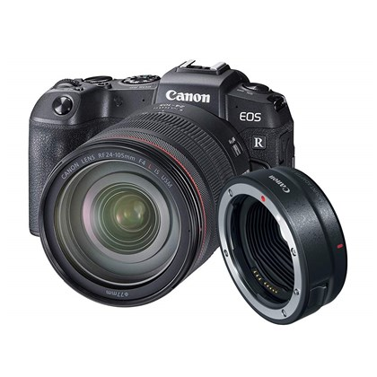 Canon EOS R + Mount Adaptor EF+24-105 RF L IS