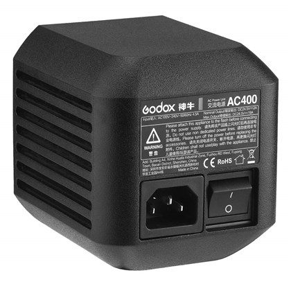 GODOX AC ADAPTER FOR AD400PRO