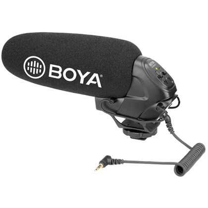 BOYA BM3031 Supercardioid Shotgun Mic w. Cutoff filter