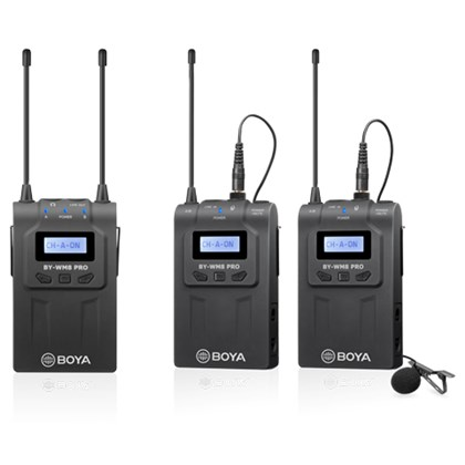 BOYA WM8 PRO Kit 2 (2 transmitters & 1 Reciever)