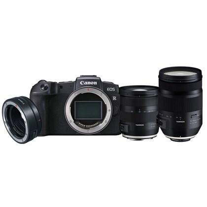 Canon EOS RP Body + M.Adaptor EF + Tamron(17-35+35-150)