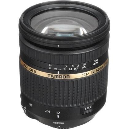 עדשת טמרון Tamron SP AF17-50mm F/2.8 Di II LD Aspherical IF For Nicon