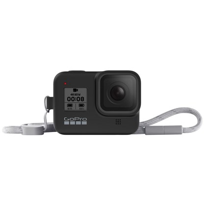 GoPro Sleeve & Lanyard For Hero 8 BLACK