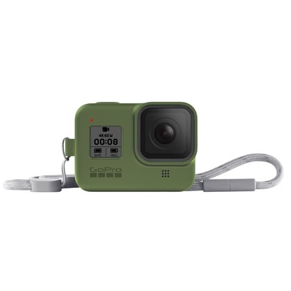 GoPro Sleeve & Lanyard For Hero 8 GREEN