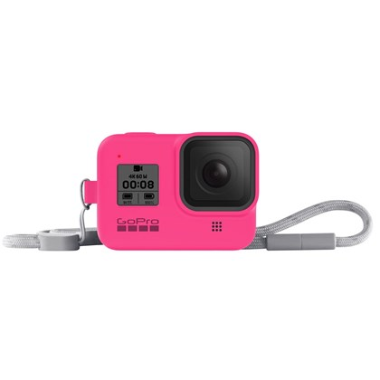 GoPro Sleeve & Lanyard For Hero 8 PINK