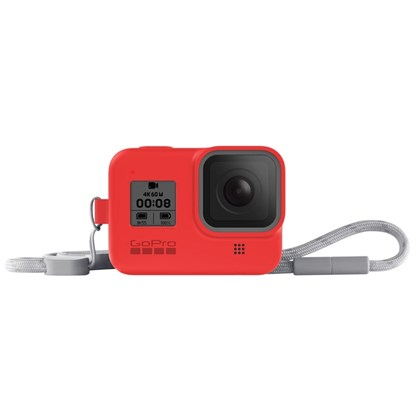 GoPro Sleeve & Lanyard For Hero 8 RED