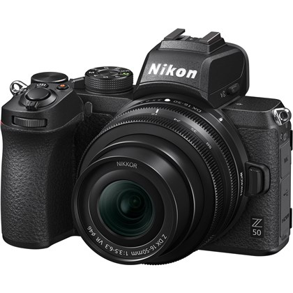 NIKON Z50+16-50 VR DX + FTZ