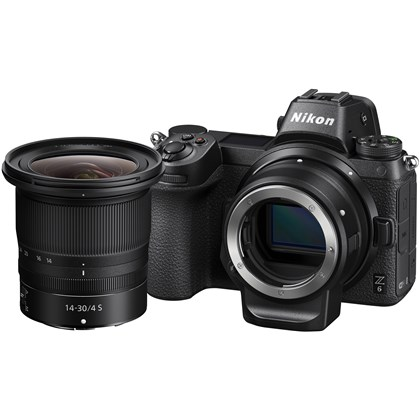 Z 6 + 14-30 f/4 S + FTZ Adapter Kit