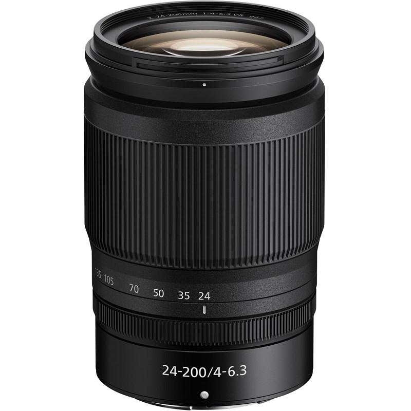 עדשת ניקון Nikon Z Lens Nikkor Z 24-200mm f/4-6.3 VR