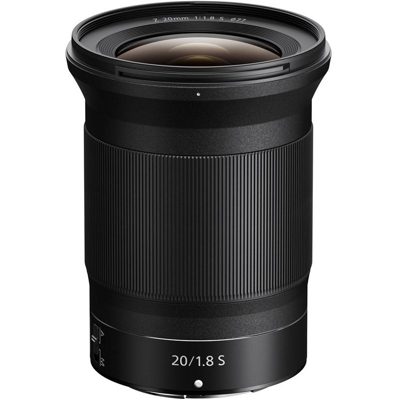 עדשת ניקון Nikon Z Lens NIKKOR Z 20mm f/1.8 S