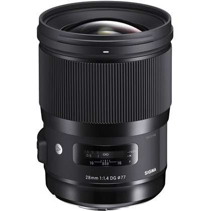 SIGMA 28mm F1.4 DG ART For Canon