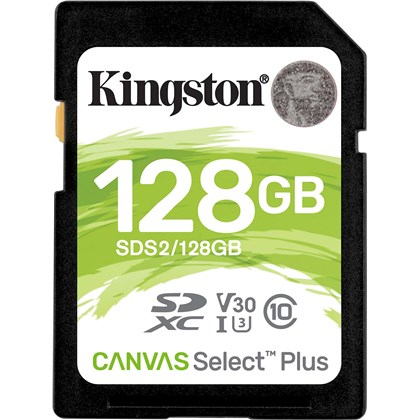 KINGSTON SD128G V30 100Mbs