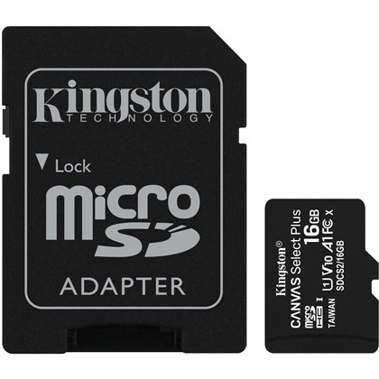 KINGSTON SD16mic.+ADP.100mbs