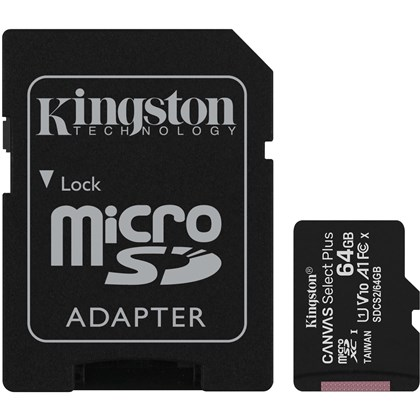 KINGSTON SD64mic+ADP 100mbs